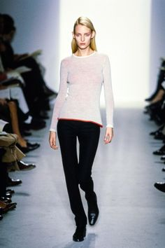 Calvin Klein Collection Fall 1997 Ready-to-Wear Fashion Show