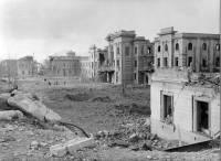 Prato - Stazione ferroviaria - Danni da bombardamento - 1944