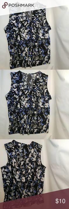 WOMAN'S Apr 9 Shirt Sleeveless Apt.9 Tops Blouses