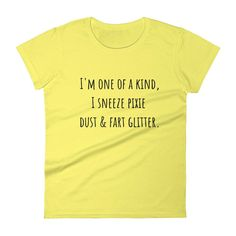 I'M ONE OF A KIND... Cotton Tee (8 colors)