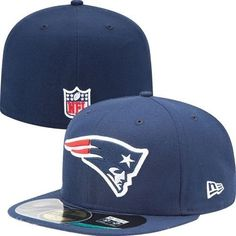 New England  Patriots Official  NFL On Field 59fifty New Era Hat (navy) 1d2b7602c