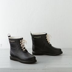 Designed in Denmark and hand-crafted from sustainable, single-estate rubber, these boots  can withstand even the rainiest of days.