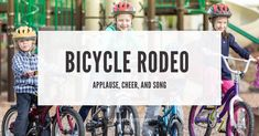 Cub Scouts Bear, Camp Songs, Face Down, Family Events, My Ride, Rodeo, Cubs, Cheer, Bicycle