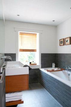 1000 images about badkamer on pinterest met toilets and van - Badkamer donker ...