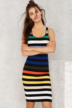 Glamorous Flying Colors Striped Knit Dress - What's New : Clothes