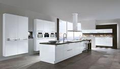 moderne keuken in industri le houtkleur idee n voor het huis pinterest. Black Bedroom Furniture Sets. Home Design Ideas