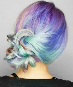 Get your inspiration from unicorns this spring - the prettiest way to breathe new life into mid-length hair #haircut