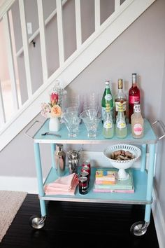 Cynthia Rowley knows Mini Bars! I need to make one of these!