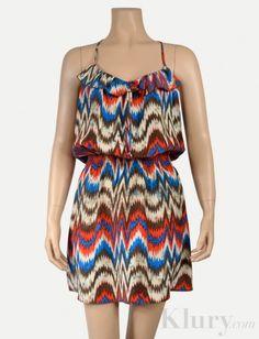 Parker Tribal Spring Dress $65