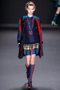 #long #necklace #Anna #Sui #Fall 2013