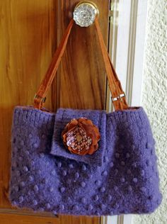 Entropy Undone: The J Bag - a beloved sweater re-purpose project