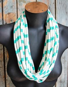 Oatmeal & Green T-shirt Necklace / Scarf Plaid Scarf, Gifts For Women, Oatmeal, Necklaces, Boutique, Green, Shirts, Fashion, The Oatmeal