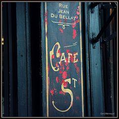 Cafe, Ile Saint Louis Ile Saint Louis, St Louis, Saint Regis, Louis Aragon, Cafe Bistro, Paris Cafe, I Love Paris, Lovely Shop, Paris France