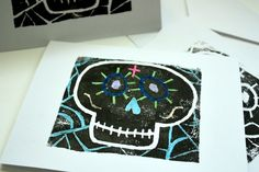 Dia de los Muertos: Calavera Prints | Modern Art 4 Kids