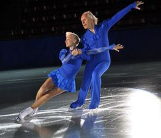 Ludmila, 77, and Oleg Protopopov, 81, at 2013 Evening With Champions