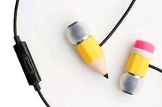 Music Magician Magic Pencil In-Ear Stereo Headphones