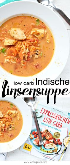 Rezept: low carb Indische Linsensuppe