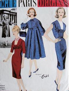 Vogue 1467 - Vintage Sewing Patterns