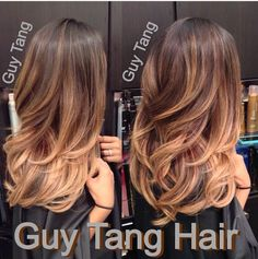 Beautiful Ombré hair by Guy Tang