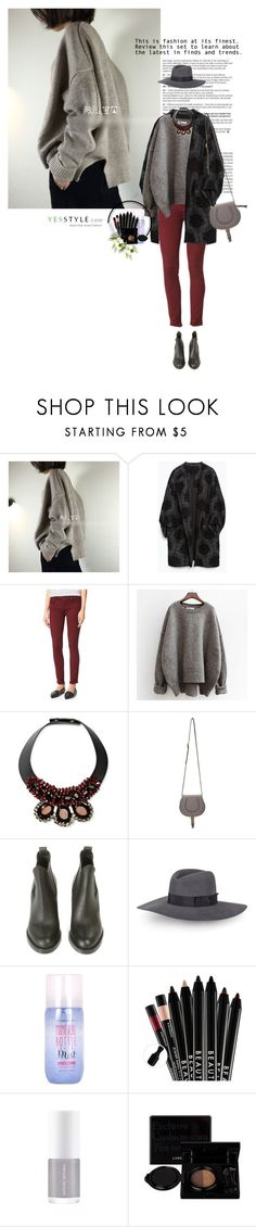 """""""Show us your Yesstyle"""" by sinsnottragedies ❤ liked on Polyvore featuring Zara, Paige Denim, Marni, Chloé, Acne Studios, Rebecca Minkoff, Etude House, Laneige, Beauty and knitwear"""