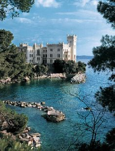 #Trieste. #Castello di #Miramare - Ultima tappa del #Giro