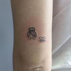 481e7325f Tatuagem para Avós – 50 Ideias p  Fazer Uma Homenagem Linda! Tatuagem Atrás  Do