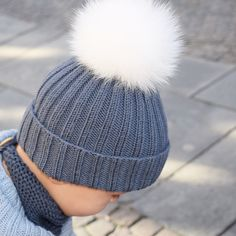 Ribbeluen - gratis oppskrift Knitting For Kids, Baby Knitting Patterns, Baby Barn, Quick Knits, Kids And Parenting, Perfect Fit, Knitted Hats, Winter Hats, Beanie