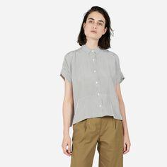 Women's Silk Short-Sleeve Square Shirt | Everlane