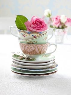 Marie Antoinette wedding style  Regency tea collection, The Contemporary Home