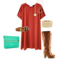 I'm in love with silk shirt dresses and who wouldnt love the pocketwatch necklace