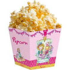 Süßes für die Kinderparty: Mikrowellen-Popcorn von Prinzessin Lillifee. #Kindergeburtstag