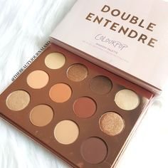 Makeup Techniques Versions Use-Makeup Artist Are The Ones With Tricks – Eye Makeup Look Colourpop Eyeshadow Palette, Lipstick Palette, Eyeshadow Tips, Eyeshadows, Make Up Palette, Colour Pop, Makeup Inspo, Beauty Makeup, Makeup Kit