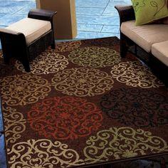 Carolina Weavers Indoor/ Outdoor Napa Collection Harbridge Indoor/ Outdoor Olefin Area Rug