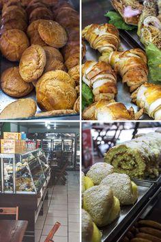 Baked goodies at Panificadoria Pão de Minas in Arraial d'Ajuda, Brazil | heneedsfood.com