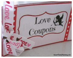 Valentines Day Love Coupons - PDF saved. X