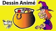 La Soupe à la Sorcière Histoire Halloween pour enfants, dessin animé de ...