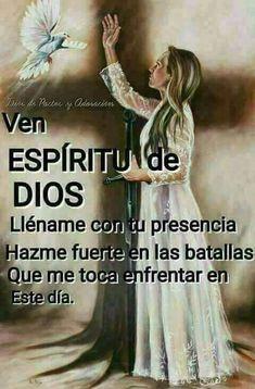Holy Spirit Prayer, God Prayer, Prayer Room, Angel Prayers, Catholic Prayers, My Children Quotes, Quotes For Kids, Jesus Bible, God Jesus