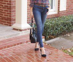 skinny jeans & mira heels