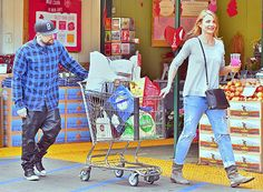 Cameron Diaz, Benji Madden Look Happier Than Ever Grocery Shopping - Us Weekly