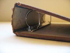 Repurposed Book Binder Tutorial #tutorial #binder #planner #handmade #upcycle #books