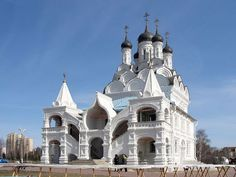 Church of the Annunciation in Taininskoye, Russia