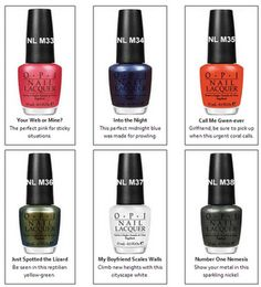 OPI's new Spider-Man collection due out in May