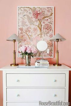Decoração do quarto - Como decorar uma cômoda - Gosto Disto!
