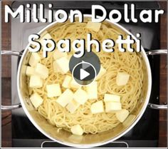 Have you tried MILLION DOLLAR SPAGHETTI??? ...every ones going crazy for this delicious recipe!  RECIPE: http://myincrediblerecipes.com/million-dollar-spaghetti/  https://www.facebook.com/permalink.php?story_fbid=455899091476155&id=100011682038926