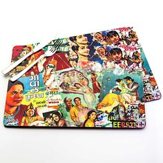 <3 Ibacana - Set Placemat Bollywood Color