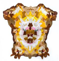 Rugs made from stuffed animal skins - Augustina Woodgate