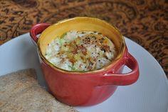 Baked Eggs with Breadcrumbs, Leeks and Hawaiian Sea Salt by Turntable ...
