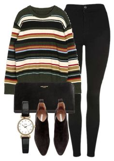 """Untitled #6798"" by laurenmboot ❤ liked on Polyvore featuring Topshop, Yves Saint Laurent and H&M"