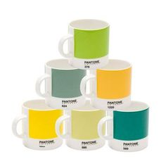 Pantone mugs - perfect for a gift for a designer! :-P