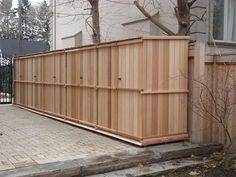 """Lots of storage in a small area - could have """"bays"""" with some dedicated to wood storage, and maybe even composting."""
